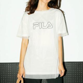 フィラ(FILA)のFILA/タグ付き新品チュールドッキングチュニック/フィラ(チュニック)