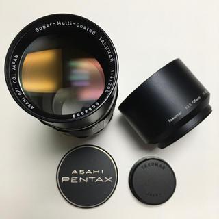 ペンタックス(PENTAX)の極美品 PENTAX TAKUMAR 200mm F4 純正付属付き タクマー(レンズ(単焦点))