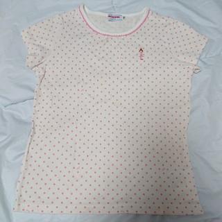 mikihouse - ミキハウス リーナちゃんドット半袖Tシャツ 110