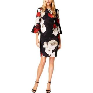 Calvin Klein - 美品 4 カルバンクライン ドレス BL7734G