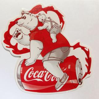 コカコーラ(コカ・コーラ)のコカ・コーラ ステッカーシール 1(その他)