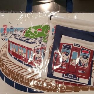 familiar - ファミリア 阪急電車 巾着セット