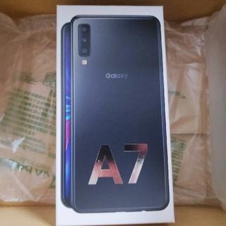 SAMSUNG - Galaxy A7 ブラック 64GB SIMフリー 新品未開封