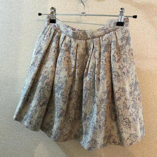 ダズリン(dazzlin)の【大幅値下げ!送料無料】秋冬 dazzlin 刺繍 ミニスカート(ミニスカート)