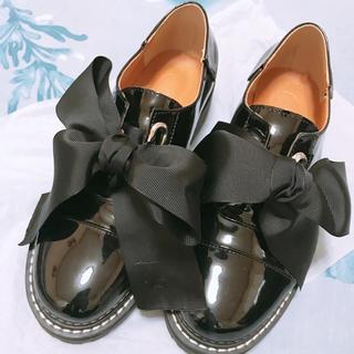 チアクロ ビックリボンマニッシュシューズ(ローファー/革靴)