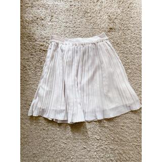 LEPSIM - 【レプシィム】膝丈  プリーツスカート【シフォン  カジュアル】
