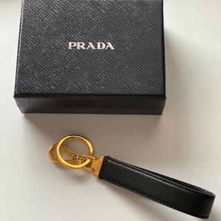 プラダ(PRADA)のPRADA キーリング ブラック(キーホルダー)