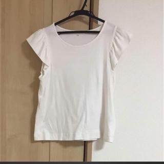 エムプルミエ(M-premier)のエムプルミエ  フリルTシャツ(Tシャツ(半袖/袖なし))