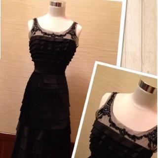 ビーシービージーマックスアズリア(BCBGMAXAZRIA)のBCBGMAXAZRIA♡ドレス(ブラック)(ロングドレス)