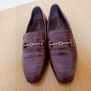 ランダ(RANDA)のRANDA  ビットローファー  24.5cm(ローファー/革靴)