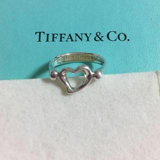 ティファニー(Tiffany & Co.)のティファニー  正規品 ハート リング 9号 ✨ 指輪(リング(指輪))
