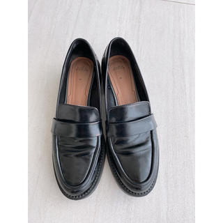 ザラ(ZARA)のZARA♦︎ザラ♦︎ローファー ブラック38(ローファー/革靴)