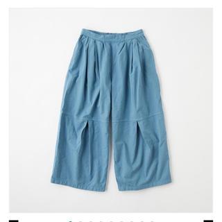 mina perhonen - POOL いろいろの服 ニータックワイドパンツ
