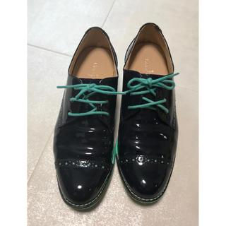 コールハーン(Cole Haan)のコールハーン Colehaan ウイメンズ オックスフォード 中古 US5サイズ(ローファー/革靴)