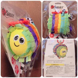 Sassy - sassy DADWAY ガラガラ リボンボール ラトル 未使用