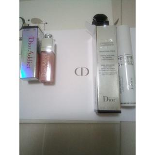クリスチャンディオール(Christian Dior)のクリスチャンディオール マキシマイザーサンプル2点(マスカラ下地/トップコート)