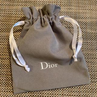 ディオール(Dior)の大活躍 新品 ディオール 布巾着 ポーチ 保存袋 便利でオシャレ(ランチボックス巾着)