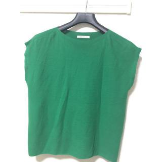 エヌナチュラルビューティーベーシック(N.Natural beauty basic)のサマーニット グリーン(Tシャツ(半袖/袖なし))