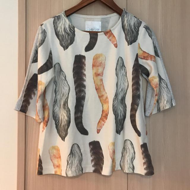 メラントリック ヘムライト ヒグチユウコ トップス レディースのトップス(Tシャツ(長袖/七分))の商品写真