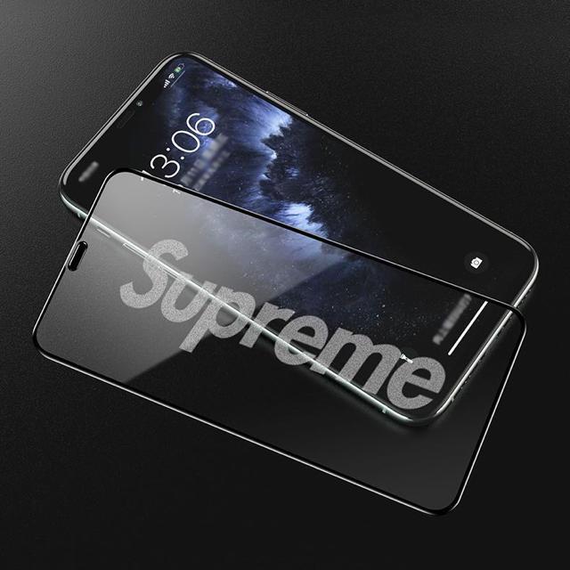 iPhone7/8/SE/X/XS/11ProMax全画面マジックガラスフィルム スマホ/家電/カメラのスマホアクセサリー(iPhoneケース)の商品写真