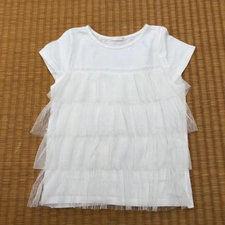 GU - GU チュールTシャツ 120