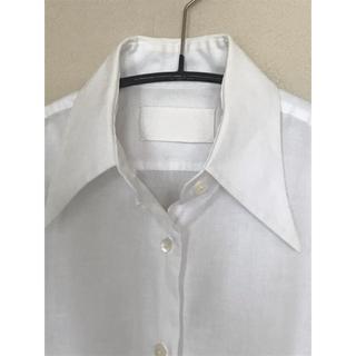 マルタンマルジェラ(Maison Martin Margiela)のレア☆マルタンマルジェラ  初期 白タグ 白シャツ HERMES(シャツ/ブラウス(長袖/七分))