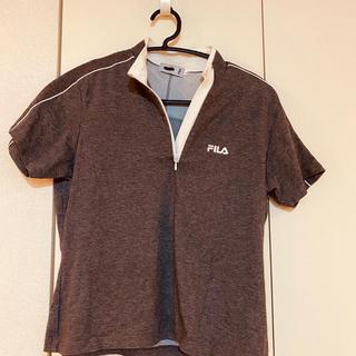 フィラ(FILA)のFILAのスポーツウェア(半袖)L(Lですが小さいです!)(ウェア)