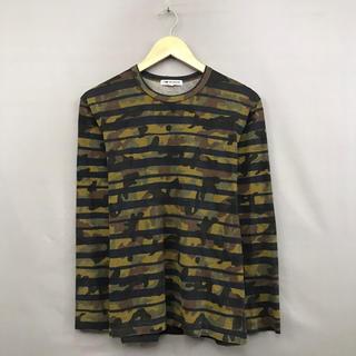 コムデギャルソン(COMME des GARCONS)のコム・デ・ギャルソン COMME des GARONS ロンT 長袖 日本製(Tシャツ/カットソー(七分/長袖))