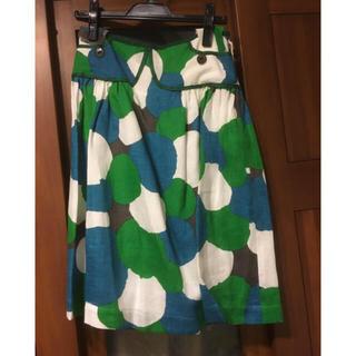 ミナペルホネン(mina perhonen)の新品 ミナペルホネン  10000feet スカート (ひざ丈スカート)