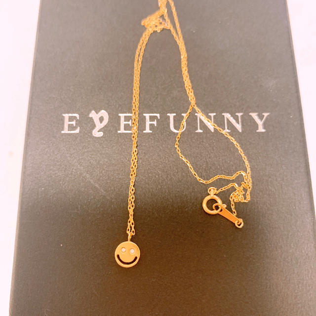 EYEFUNNY(アイファニー)のアイファニーネックレス値下げ本日まで レディースのアクセサリー(ネックレス)の商品写真