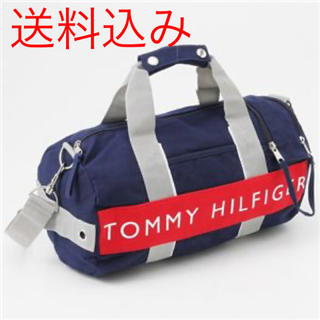 TOMMY HILFIGER - 中古 Tommy Hilfiger Small Duffle Bag Navy