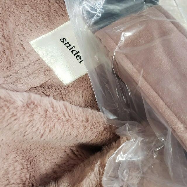 snidel(スナイデル)のSnidelコート新品♪ レディースのジャケット/アウター(ロングコート)の商品写真