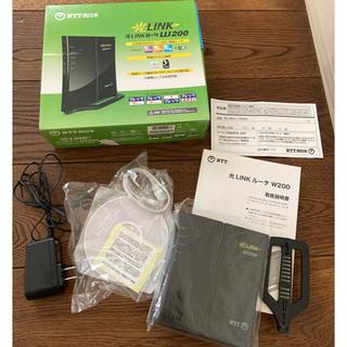 エヌティティドコモ(NTTdocomo)のNTT西日本 光LINKルータ W200 中古品(PC周辺機器)