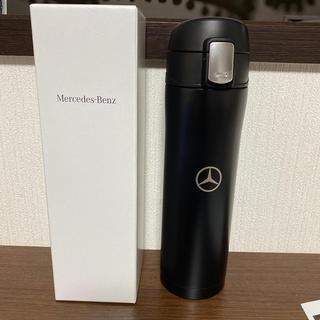 ★新品★メルセデスベンツ★真空ステンレスボトル★450ml★黒★水筒★(水筒)
