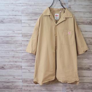 ダントン(DANTON)の2018SS DANTON コットンポプリン オープンカラー ワークシャツ(シャツ)
