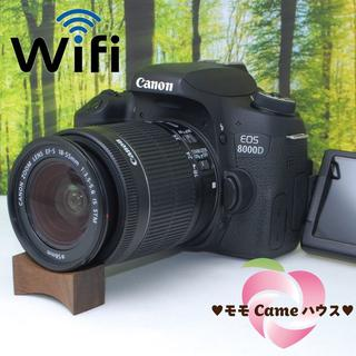 Canon - キャノン EOS 8000D☆WiFi機能搭載!高機能一眼レフ☆985