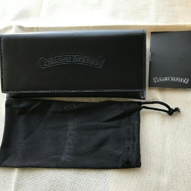 Chrome Hearts(クロムハーツ)のクロムハーツ伊達メガネ ブラックゴールド メンズのファッション小物(サングラス/メガネ)の商品写真