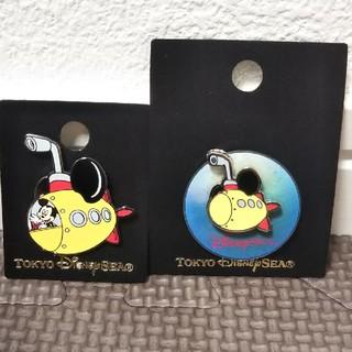 ミッキーマウス(ミッキーマウス)のディズニー シー ピンバッジ ミッキー 潜水艦(バッジ/ピンバッジ)