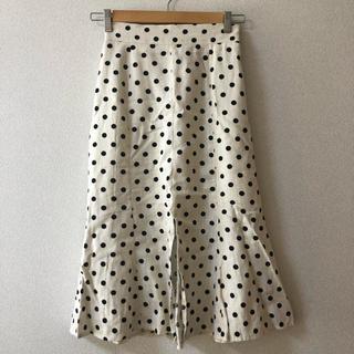 dholic - ドット柄スカート