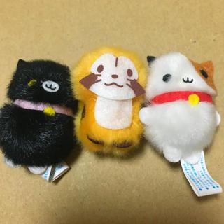 【未使用】アライグマ ラスカル チビマスコット(キャラクターグッズ)