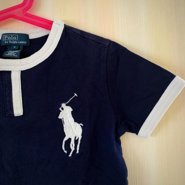 POLO RALPH LAUREN(ポロラルフローレン)のRalph Lauren Tシャツ size5 キッズ/ベビー/マタニティのキッズ服男の子用(90cm~)(Tシャツ/カットソー)の商品写真