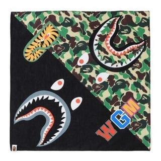 アベイシングエイプ(A BATHING APE)の【専用出品 ゆうパック】 BAPE ABC SHARK BANDANA(バンダナ/スカーフ)
