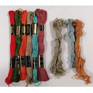 オリンパス(OLYMPUS)の刺繍糸 OLYMPUS★8本:C★ オリムパス 25番 刺しゅう糸(生地/糸)