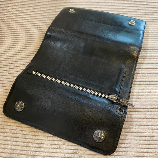 Chrome Hearts(クロムハーツ)のChrome Hearts クロムハーツ WAVE WALLET ウェーブ 財布 メンズのファッション小物(長財布)の商品写真