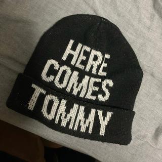 トミー(TOMMY)のTommy hilfiger ニット帽(ニット帽/ビーニー)