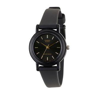 MUJI (無印良品) - CASIO カシオ アナログ腕時計 ブラック 新品