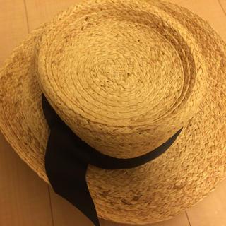 スタディオクリップ(STUDIO CLIP)のカンカン帽(麦わら帽子/ストローハット)