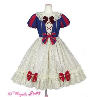 アンジェリックプリティー(Angelic Pretty)のelegant snow whiteワンピース(ひざ丈ワンピース)