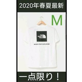 THE NORTH FACE - 【新品タグ付】 ノースフェイス スクエアロゴTシャツ NT32038 Mサイズ