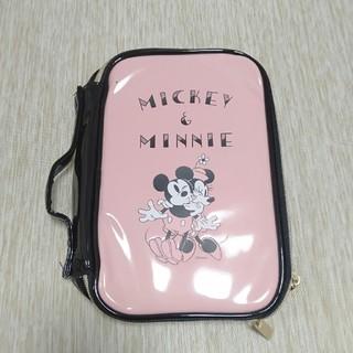 ミッキーマウス(ミッキーマウス)の雑誌の付録 ミッキー&ミニー ミラーポーチ(その他)